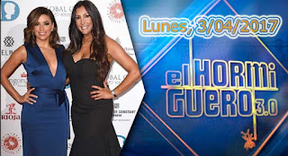 Eva Longoria en El Hormiguero lunes 3 de abril de 2017