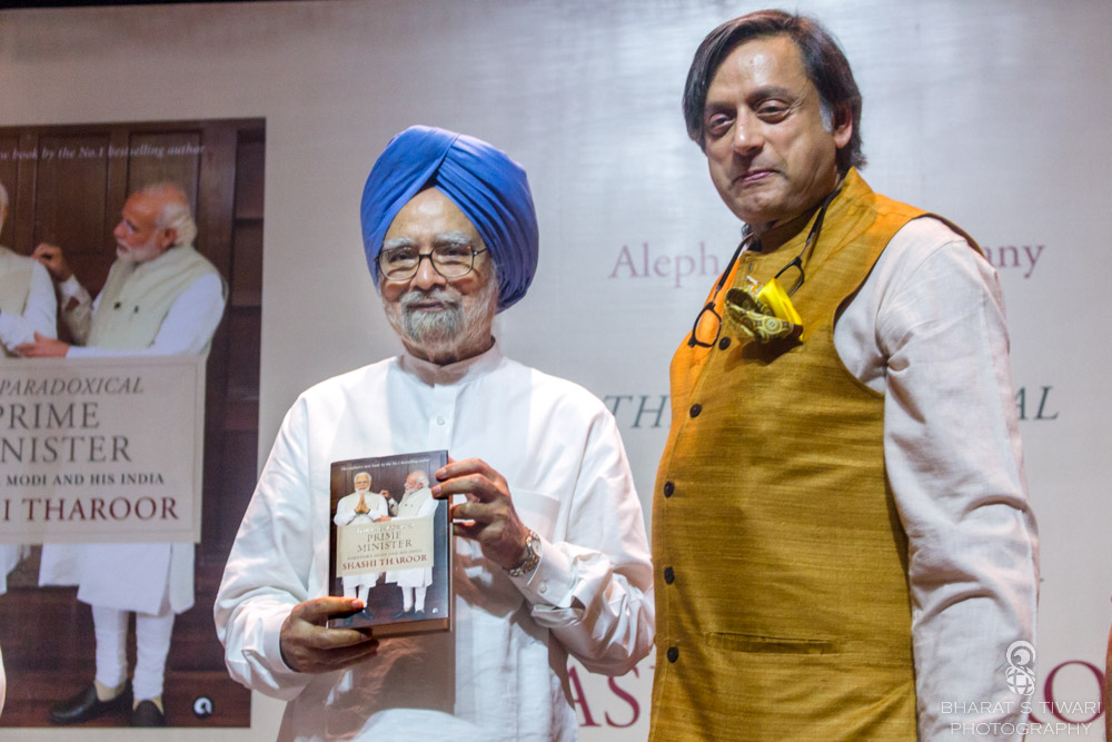 Former PM Manmohan Singh, confirming the launched book's title, said, Modi is a paradoxical Prime Minister.