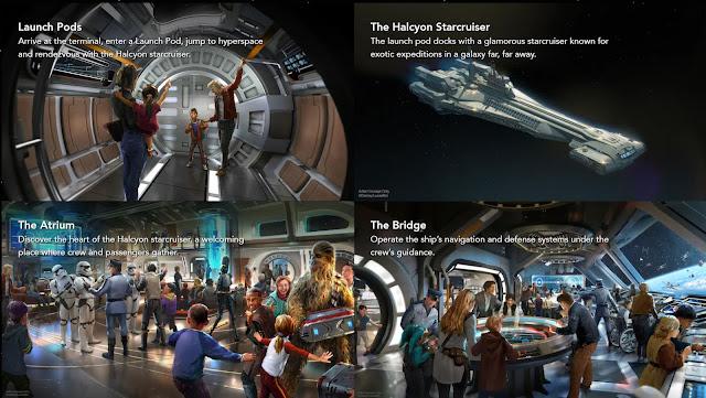 Star Wars Galactic Starcruiser Hotel Walt Disney World Concept Art