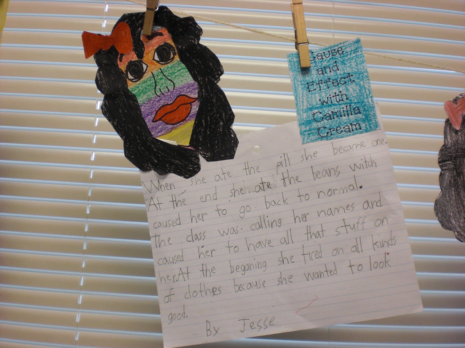 Second Grade Perks Cause And Effect