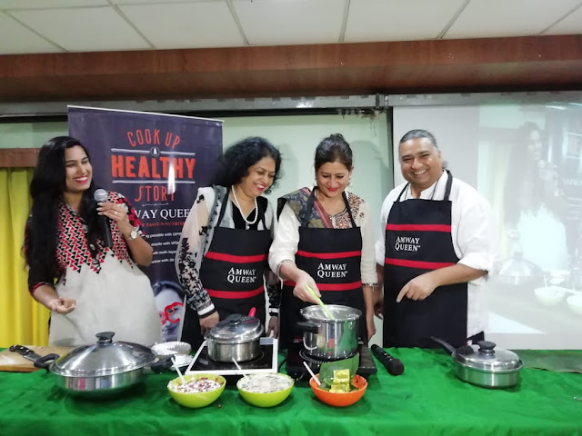 Amway gives Festive Indulgence a healthy twist with Amway Queen Cookware