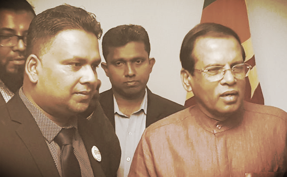 "THE LOST ""HERO"": Maithripala Sirisena; Then and Now"