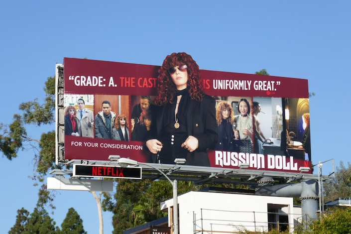 Russian Doll season 1 extension FYC billboard
