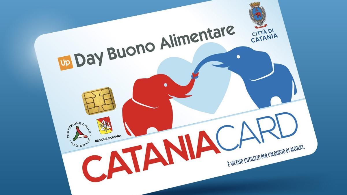 Il Comune di Catania consegna il Buono spesa