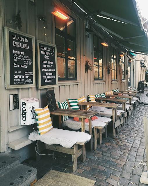 I nabolaget Haga, i Gøteborg
