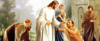 DOS CIEGOS DE JERICÓ SON CURADOS POR JESÚS
