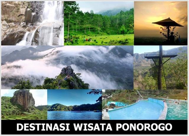 10 Top Destinasi Wisata Ponorogo