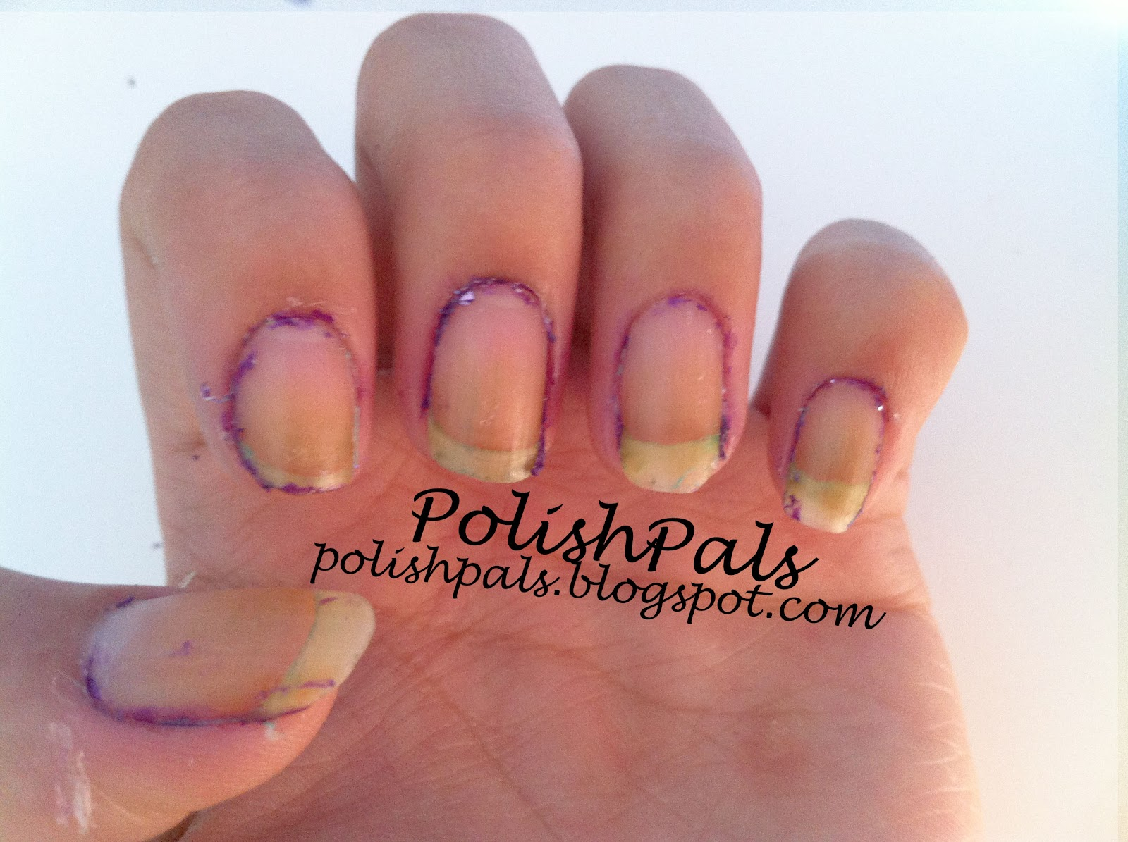 Polish Pals How To Take Glitter Nail Polish Off With Ease Tutorial