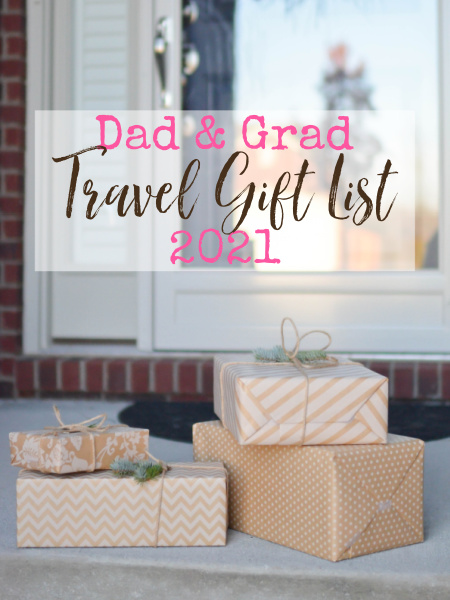 With Father's Day coming up quick and everyone graduating right now, travel gifts can really go a long way in making your recipients extra happy.