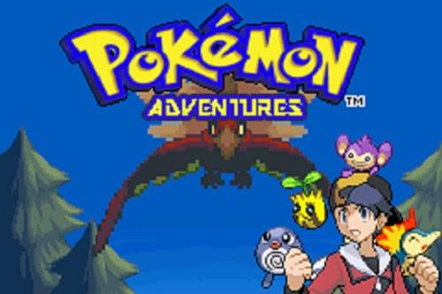 Pokemon Adventures Gold Chapter