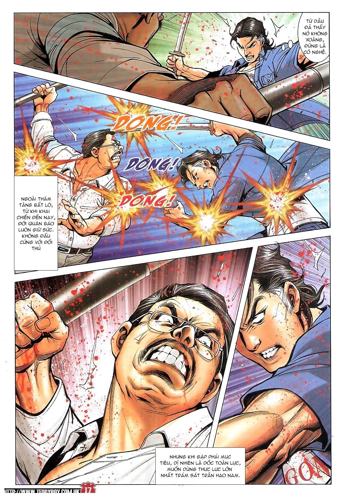 Người Trong Giang Hồ chapter 1840: đại phi ác chiến kim tôn quý trang 15