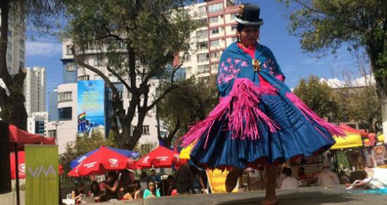 Max Paredes elegirá a su Cholita Paceña 2016