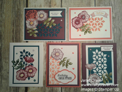 Oh So Eclectic, 2017-2019 Stampin up catalog, Stampin Up Paste, make your own stencil