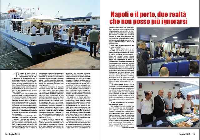 LUGLIO 2018 PAG 14 - Napoli e il porto, due realtà che non posso più ignorarsi