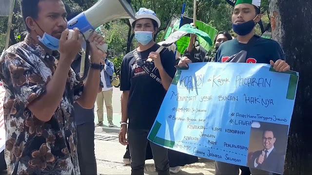 Ketum PB HMI MPO Bantah Kerahkan Kader Geruduk Kantor Anies Baswedan