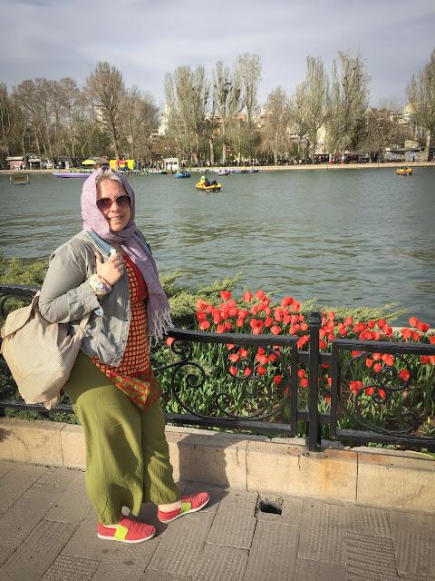 Parcul El Goli, Tabriz, Iran