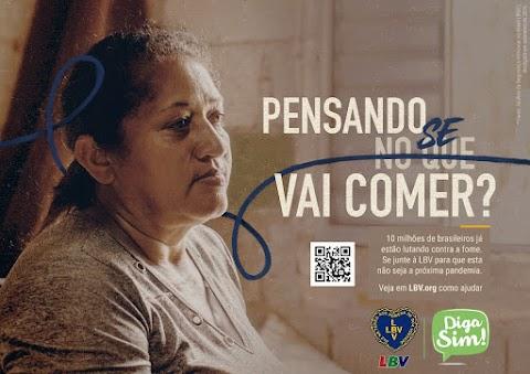 Toda ajuda é necessária para assistir as famílias mais vulneráveis que sofrem com a fome Falta alimentos para mais de 10 milhões de brasileiros e a LBV conta com a sua ajuda. Não deixe pra depois, faça a sua parte.