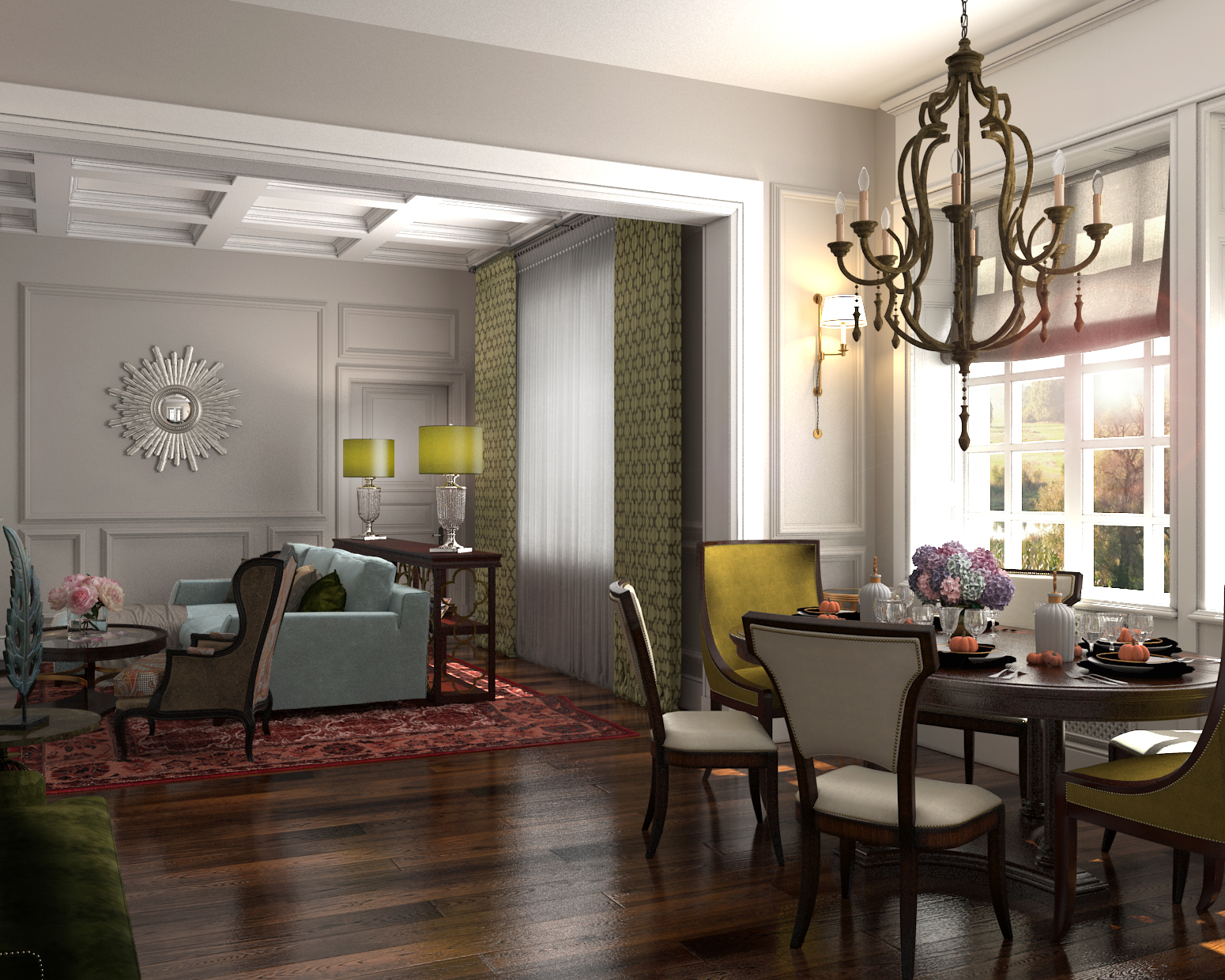 Super Darya Girina Interior Design Project Of Interiors At Private Largest Home Design Picture Inspirations Pitcheantrous