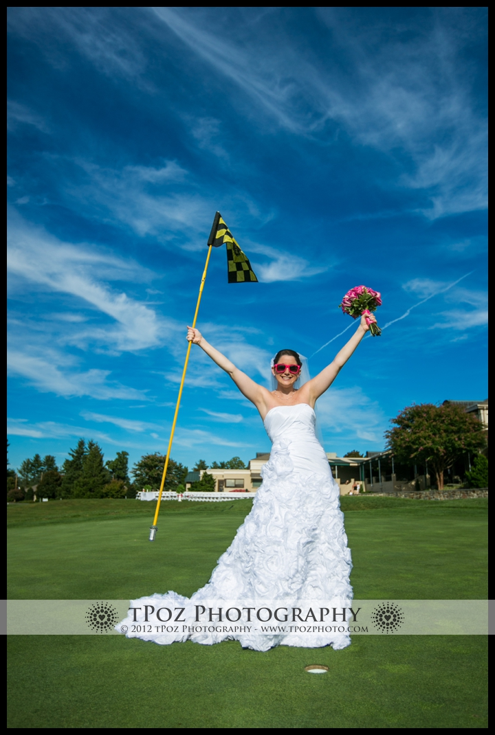 Hillendale Golf Club Bride Wedding Photo