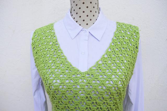 4 - Imagen Crochet Blusa de mujer a crochet y ganchillo parte 1 por Majovel Crochet