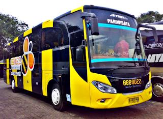 sewa bus pariwisata eksekutif