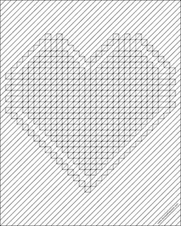 Geometric heart to print and color- available in other styles and in jpg and a larger version in transparent png.