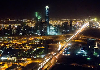 Powerful explosions rock the central capital of Saudi Arabia