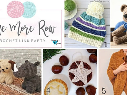 One More Row - Free Crochet Link Party #14