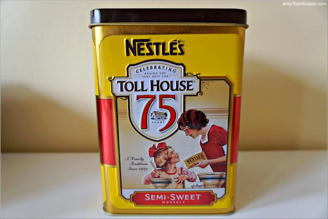 Lata del 75 Aniversario de Toll House de Nestlé