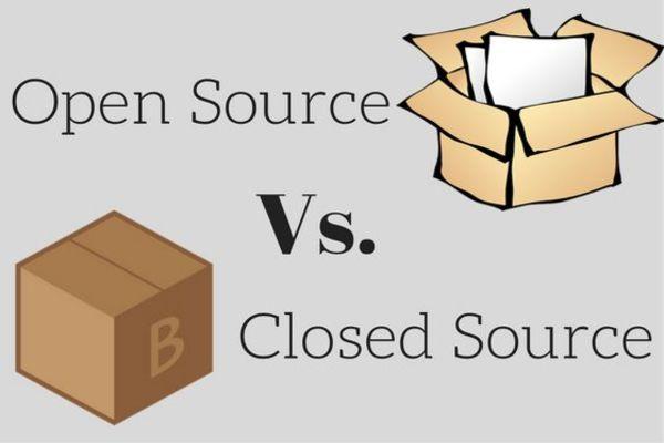 ما الفرق بين البرامج مفتوحة المصدر والبرامج مغلقة المصدر.