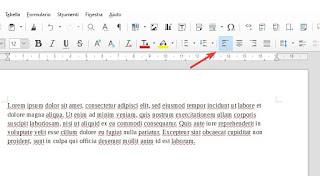 Allinea LibreOffice