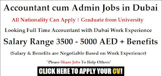 Hiring General Accountant Cum Admin To Work In Our Branch Office In Fujairah