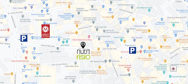 Mapa: Carrer Sant Joan 34, 3-1 de Reus