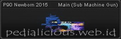 Senjata PB P90 Newborn 2015