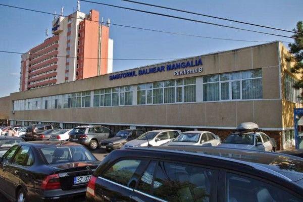 Sanatoriul Balnear, Pavilionul A și Pavilionul B