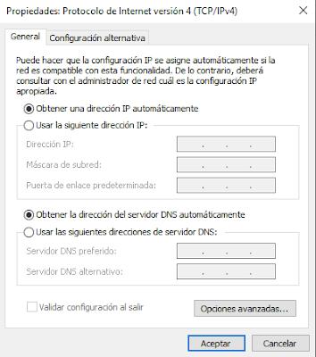 Configuración-TCP