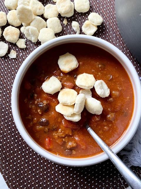 pumpkin and black bean chili
