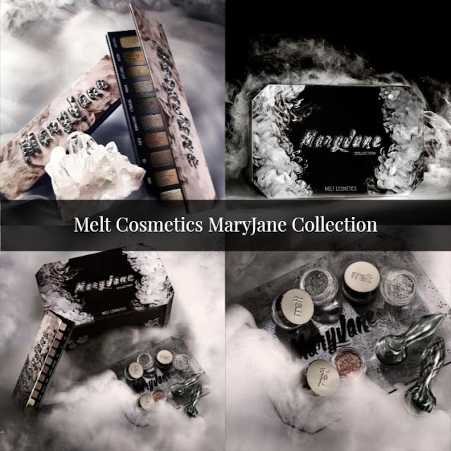 Melt Cosmetics new cool tone  Mary Jane Collection