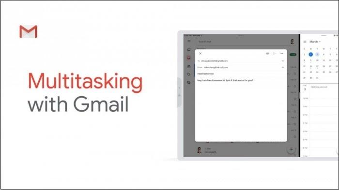 Gmail 終於支援 iPad 分割顯示!邊滑 FB 邊處理郵件