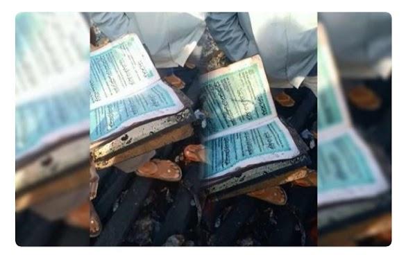 Subhanallah, Al-Qur'an Tetap Utuh usai Dikepung Api Tewaskan Satu Keluarga di Jeneponto