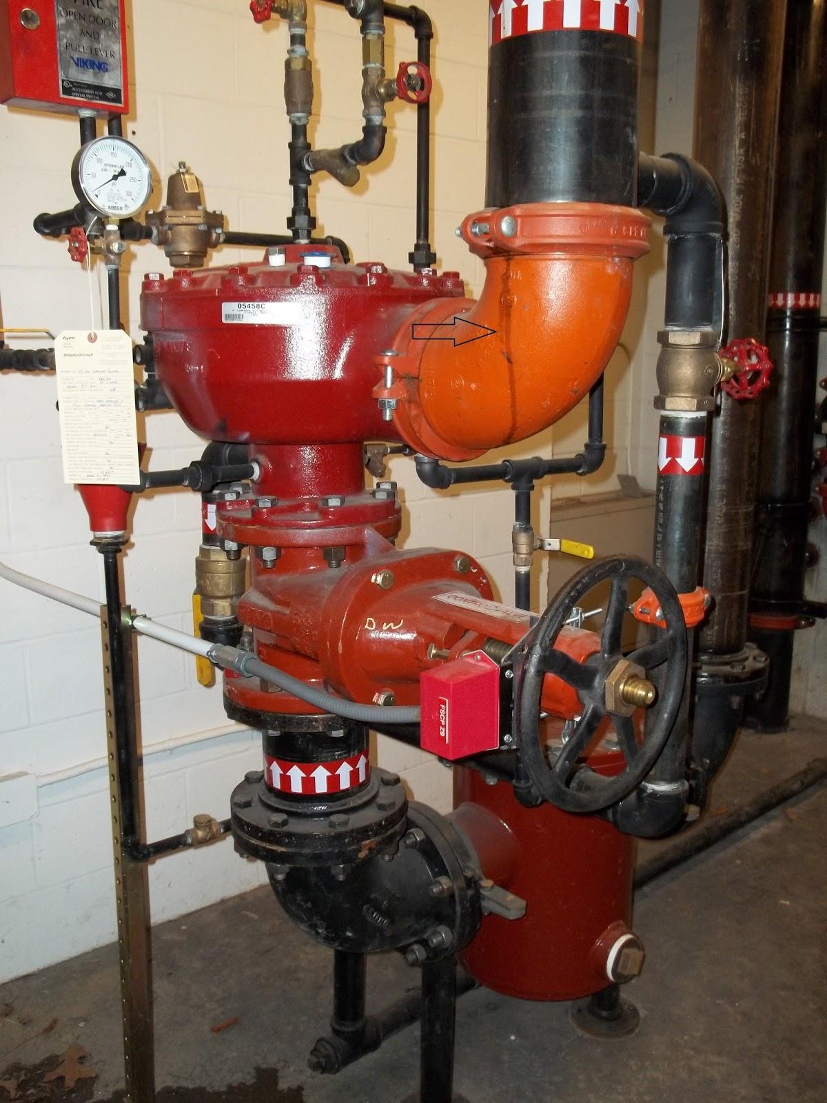 Fire Protection Deficiencies: Leaks