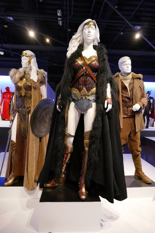 Wonder Woman movie costumes