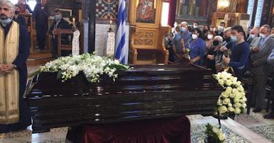 Πλήθος κόσμου για να αποχαιρετήσει τον πατέρα Ανανία Κουστένη
