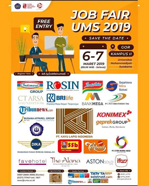 Job Fair Surakarta 2019