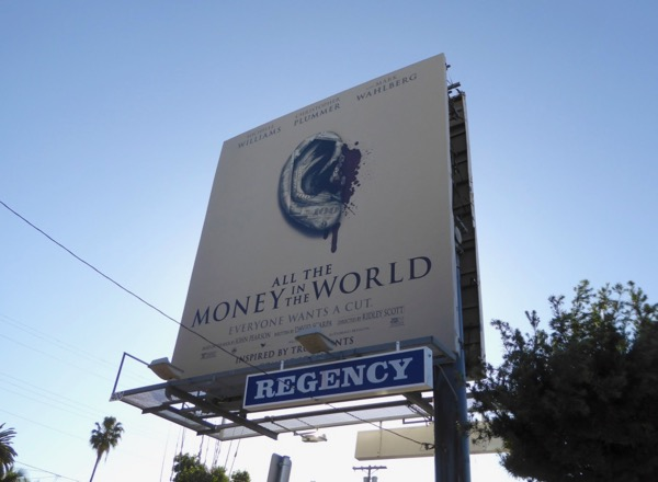 All the Money in the World billboard