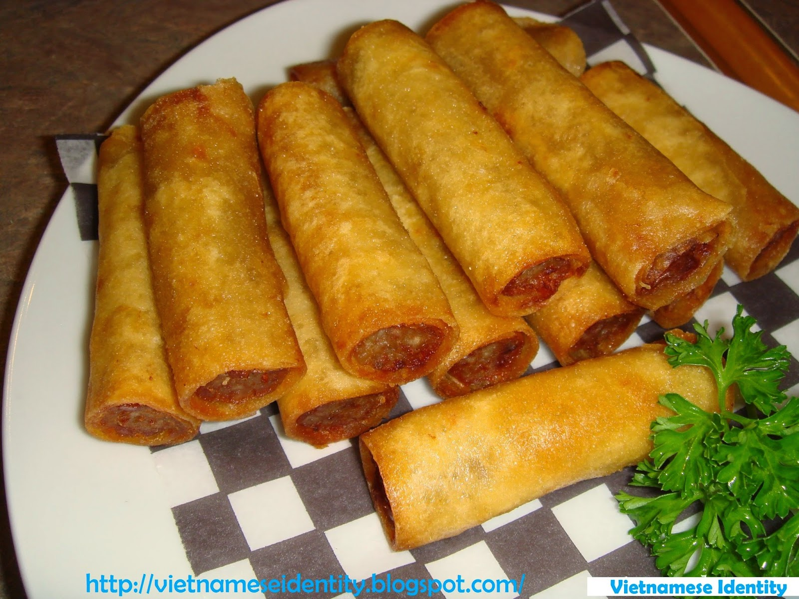 Vietnamese Identity Vietnamese fried spring rollsVietnamese Fried Spring Rolls