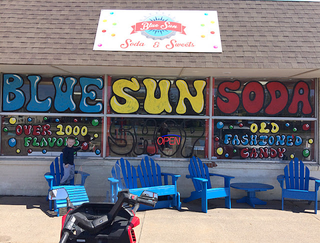 Blue Sun Soda Shop
