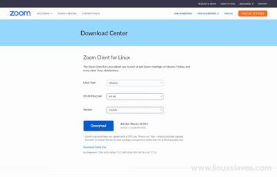 Downloda Zoom Meeting Cloud Linux