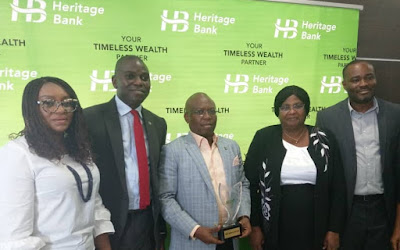 Heritage Bank Wins Three Prestigious Awards In Agric, SME