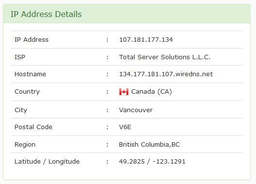 تغيير عنوان الاي بي الى كندا على فايرفوكس